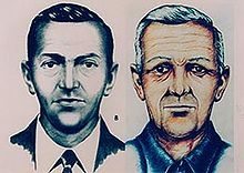 During a severe thunderstorm over Washington, a man calling himself D. B. Cooper parachutes from the Northwest Orient Airlines plane he hijacked, with $200,000 in ransom money, and is never seen again.This case remains the only unsolved skyjacking in history. - Wikipedia