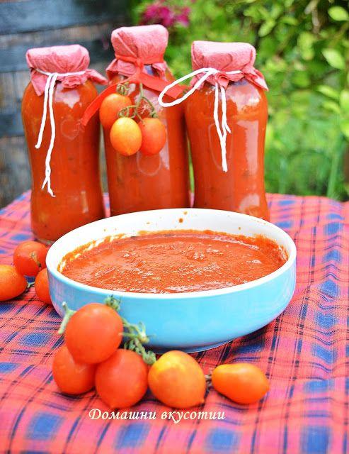 Домашни вкусотии: Домашен кетчуп
