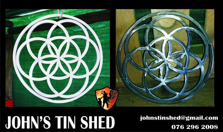 Geometric steel designs