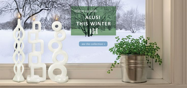 Alusi® Candles | See our collection!