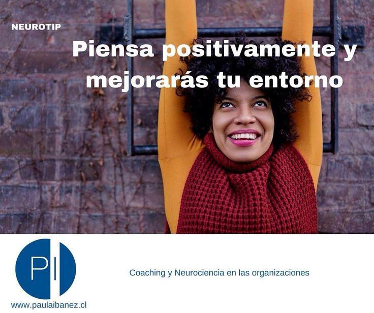Piensa positivo y mejoraras tu entorno #neuroliderazgo #braingym #creencias  #aceitesesenciales