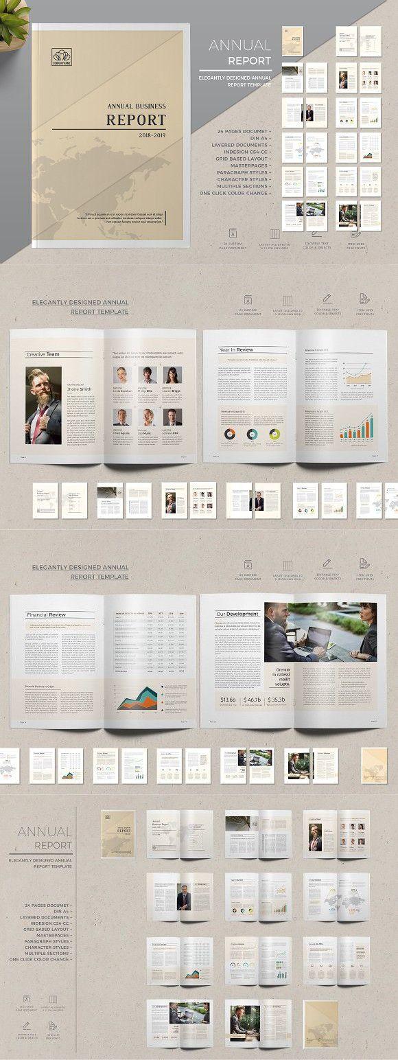 Annual Report. Brochure Templates