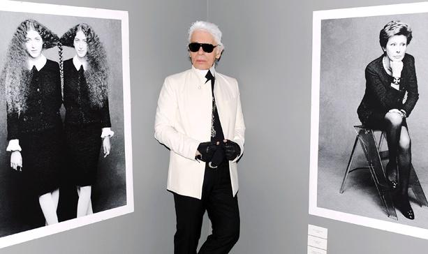 Karl Lagerfeld, Carine Roitfeld, and Kehinde Wiley Toast Chanel's Black Jacket — Reinterpreted
