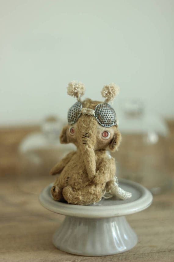 teddy bug teddy elephant artist toy miniature toy teddy bear