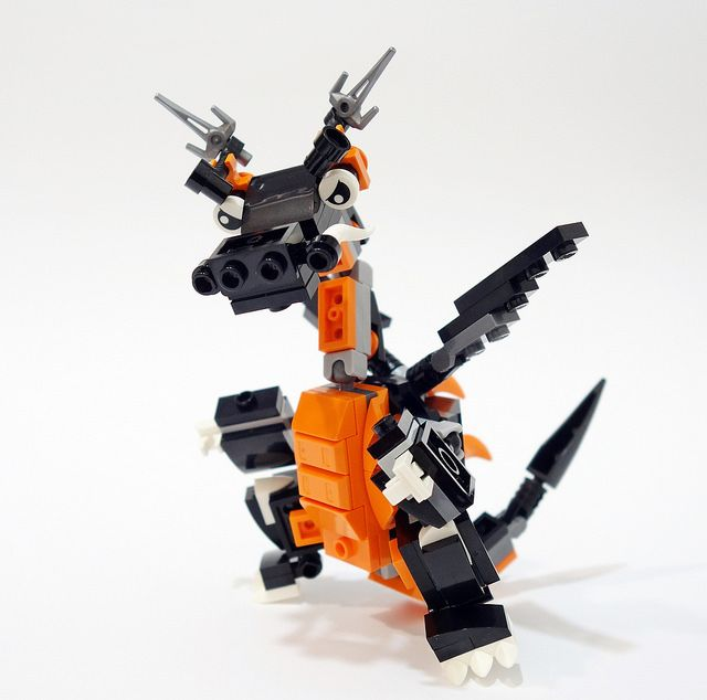 Sparky the ninjago dragon! | Another mixel remax with sets 4… | Flickr