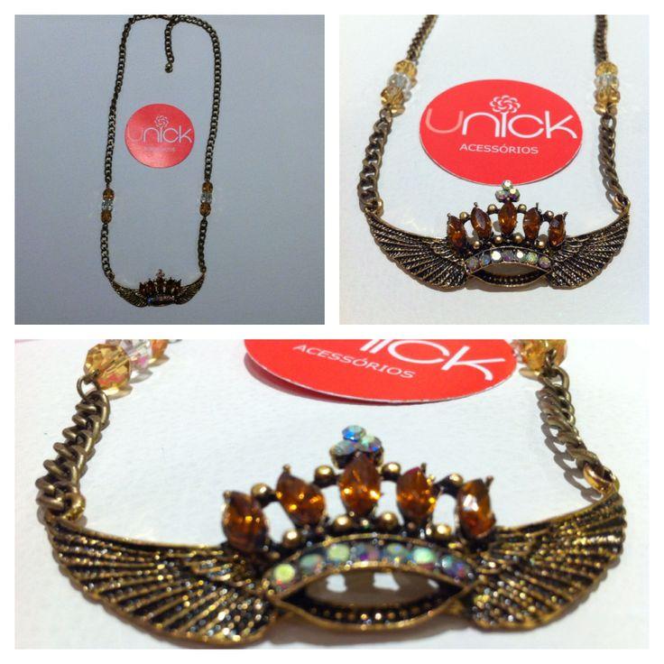 Colar King, Necklace - unickacessorios@gmail.com