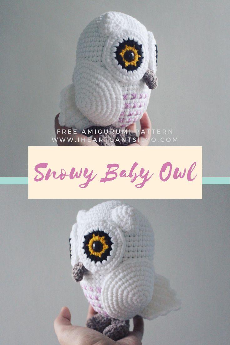 Free Pattern for Crochet Baby Owl