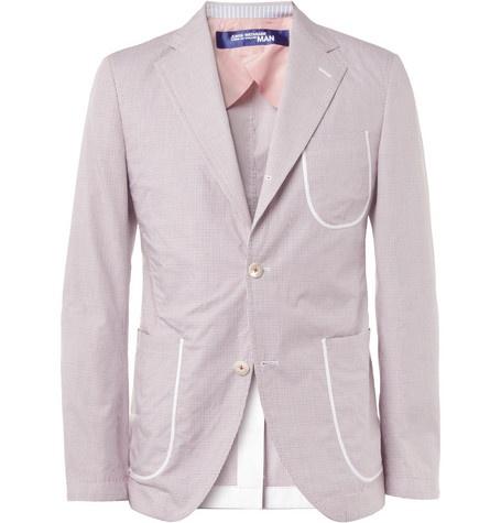 Junya Watanabe Slim-Fit Unstructured Cotton Blazer+ +MR PORTER