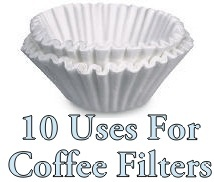 Coffee Maker Outlet Blog: 10 Coffee Filter Uses