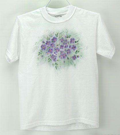 Violet Embellished T-Shirt
