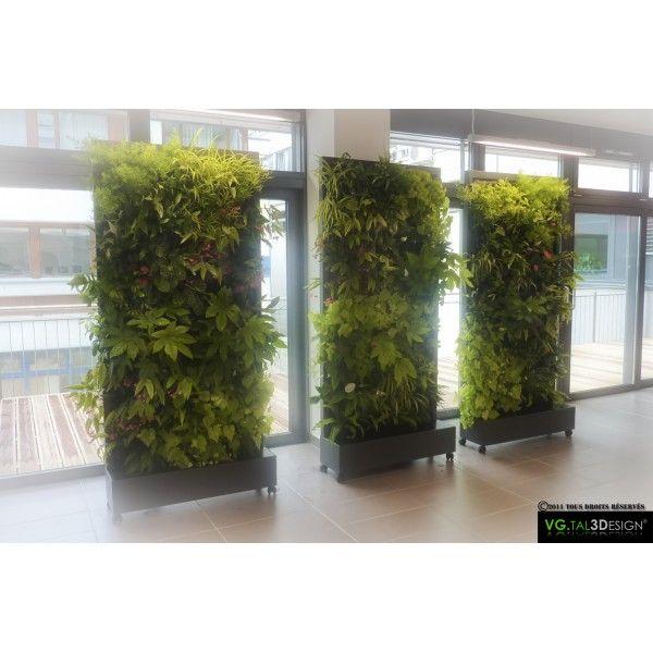 mur v g tal hydroponique office design green eco wood pinterest. Black Bedroom Furniture Sets. Home Design Ideas