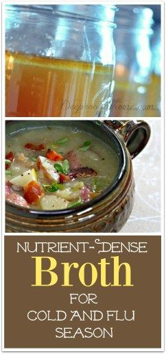 """You're A Really Good Cook"" Nutrient-Dense Broth For Cold & Flu Season"
