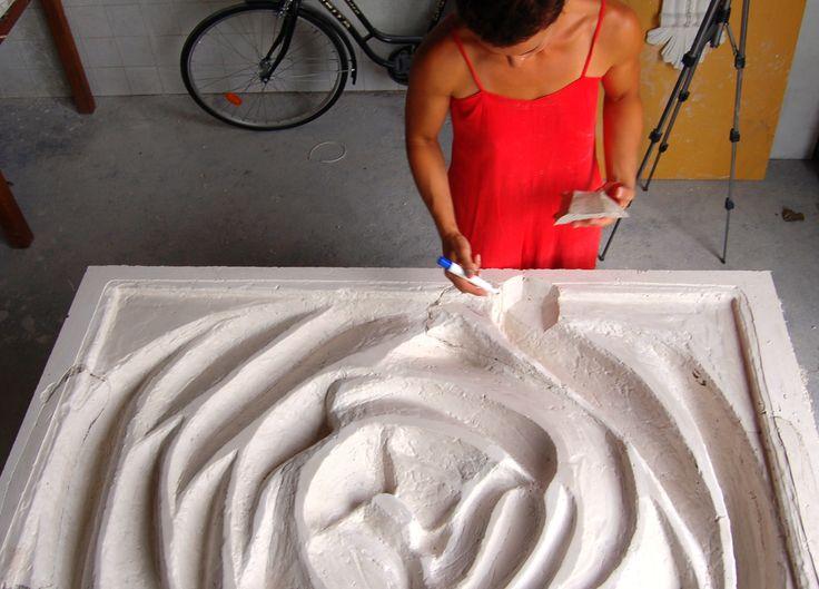 Sculpture Atelier Iva Viana Atelier de escultura Iva Viana www.ivavianaescultura.com