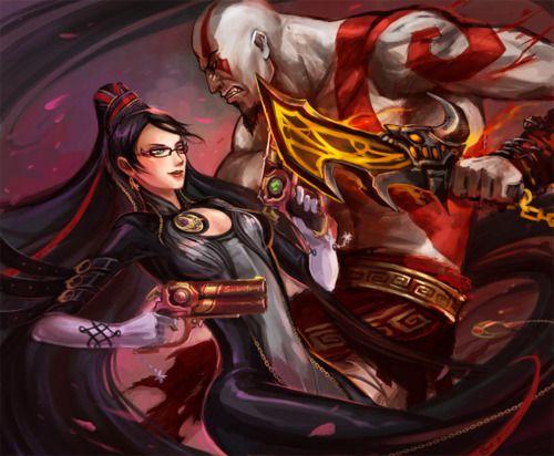 Kratos, Bayonetta, God of War