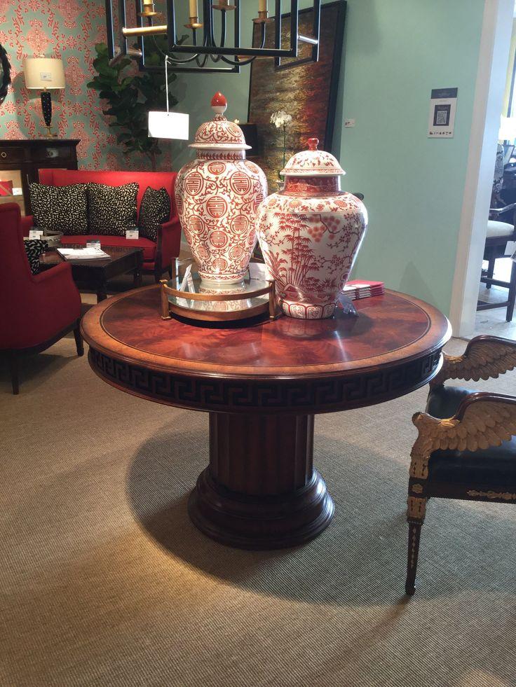 Foyer Table Base : Hpmktss workmanship on this foyer table in the buckingham