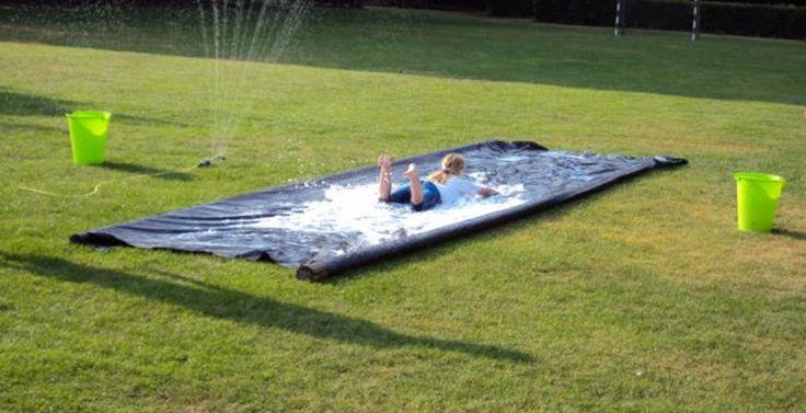 Laatste schooldagen - Waterspelletjes voor de hete laatste dagen.