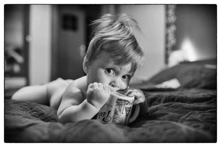 Baby boy on bed by Paweł  Czaja on 500px