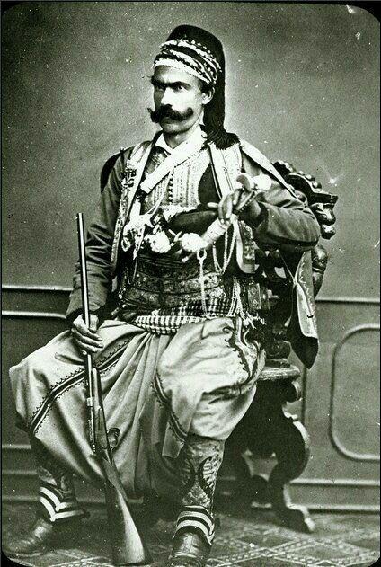 - Turco del Imperio Otomano . 1880-1900 ./tcc/