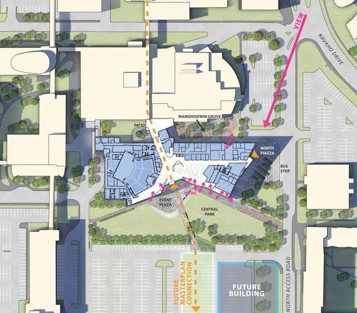 Student Commons plan