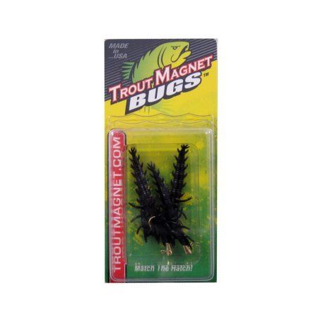 Lelands Lures Trout Magnet Bugs Small Hellgrammite Multi-Colored, Multicolor
