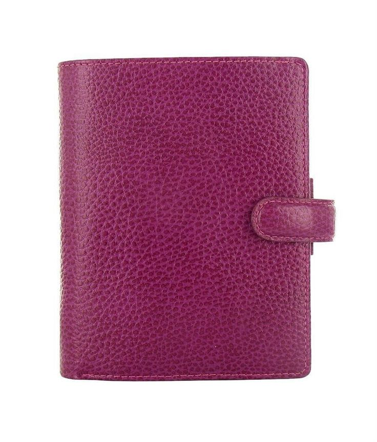 Filofax - Finsbury Organizer - Raspberry Leather - Pocket
