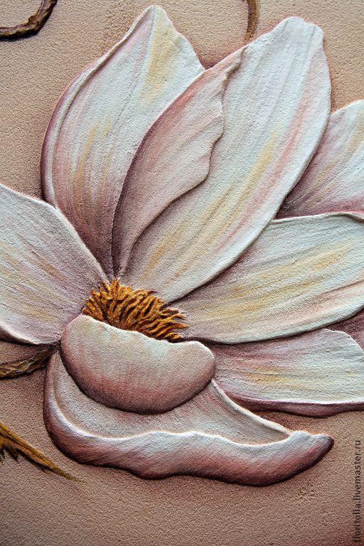 Fresco Fine Magnolias (detail)