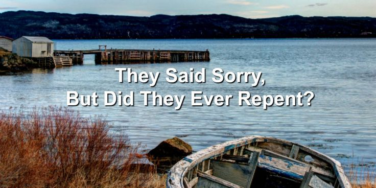 Did Joseph's Brothers Ever Repent? A critical part of Joseph's story