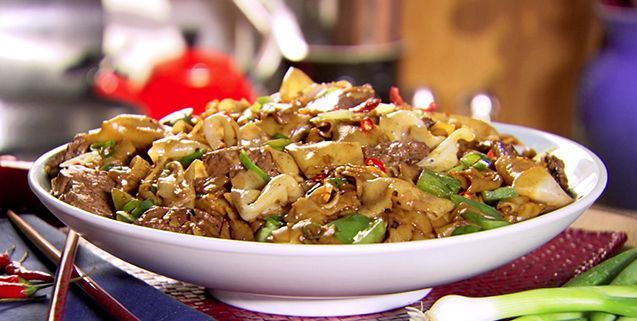 Beef And Black Bean Ho Fun | Asian Food Channel