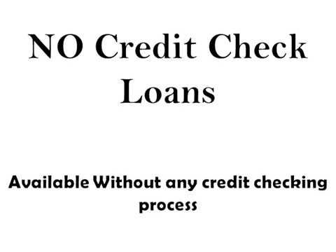 No Credit Check Loans- Speedy Money To Attain On The Spot Sanctioned