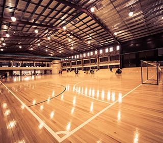 Valentine Sports Park is a multi-purpose sports facility offering accommodation, playing fields, a Futsal and multi-purpose indoor sports centre, on-site café, meeting rooms and dining room.