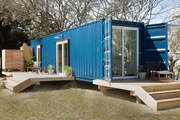 Upcycled Shipping Containers Offer A Sleek New Way To Stay In Style Check Out Our Favorite Must V Container House Container House Design Beach House Interior