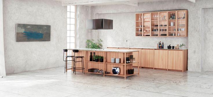 Nytt kjøkken fra Kvänum – INTRO i alm. Vi gleder oss til å få kjøkkenet på plass i vår utstilling i Oslo om et par uker!