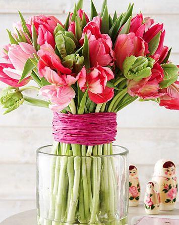fresh tulips.....