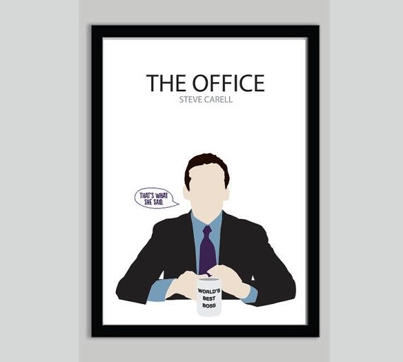 The Office Michael Scott TV Show Poster TV Poster
