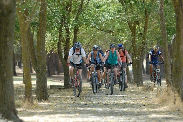 Sardinia coast to coast mountain bike holiday. A photo from a Saddle Skedaddle mountain bike holiday in Sardinia