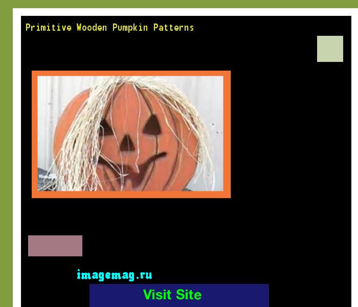Primitive Wooden Pumpkin Patterns 133725 - The Best Image Search