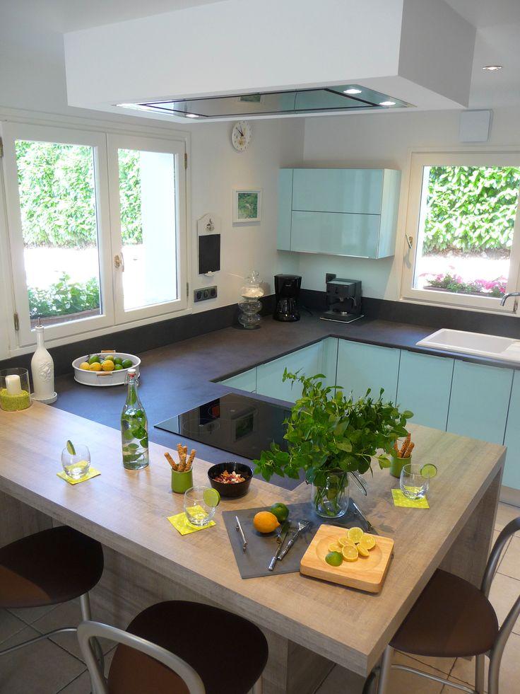 Cuisine#Kitchen#Design#La Maison Agencée par Silvent