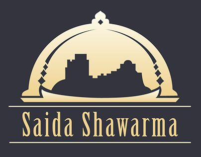 "Check out new work on my @Behance portfolio: ""Logotype Saida Shawarma"" http://on.be.net/1ERlKjY"