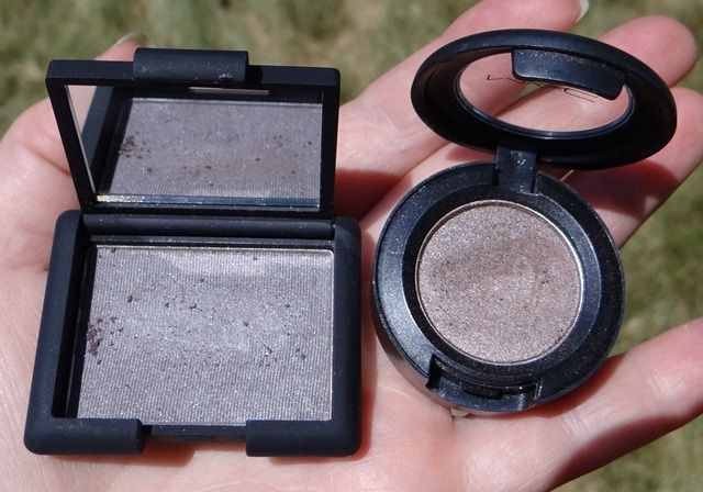 NARS Lhasa MAC Satin Taupe Comparison (Makeup Wars)  The Mac one is so pretty
