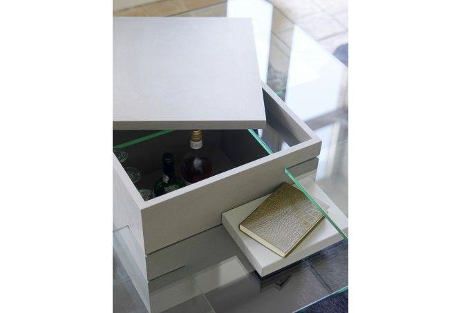 Table Basse bar Puzzle - Meubles Delmas