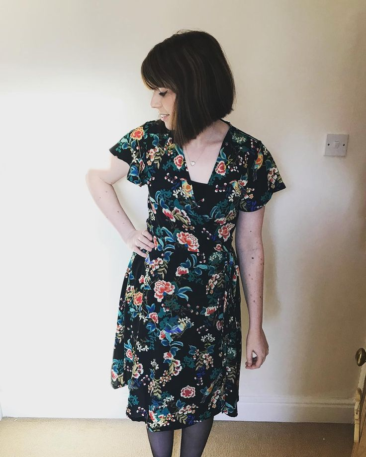 Hot off the sewing machine is my Sew Over It Eve Dress
