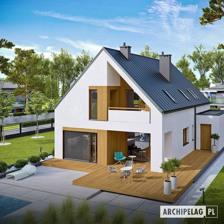 Gambar  Model Rumah  Idaman  Minimalis  Modern  Dom di 2019