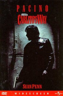 Carlito's Way: A Puerto-Rican ex-con, just released from prison, pledges to stay away from drugs and violence despite the pressure around him and lead on to a better life outside of NYC.  (1993)