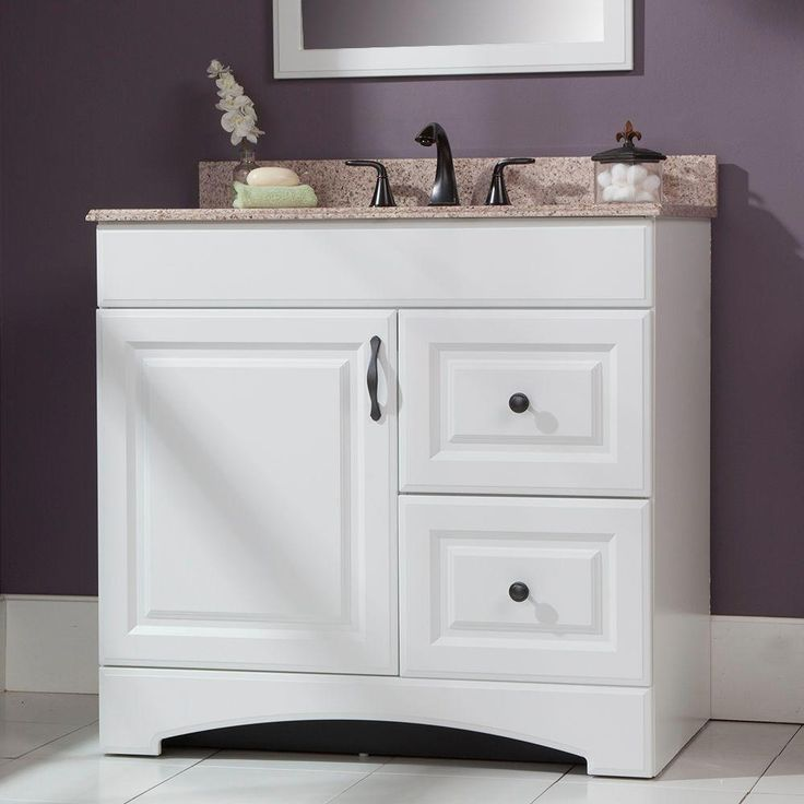 This Vanity From The Regency Collection Offers Two Extra
