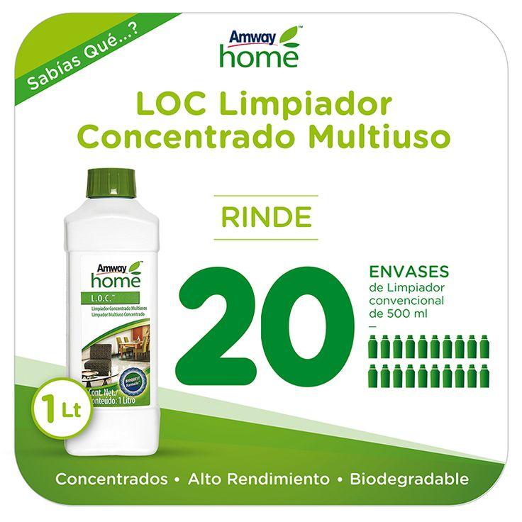 Novedades Amway - LOC Limpiador Concentrado Multiuso