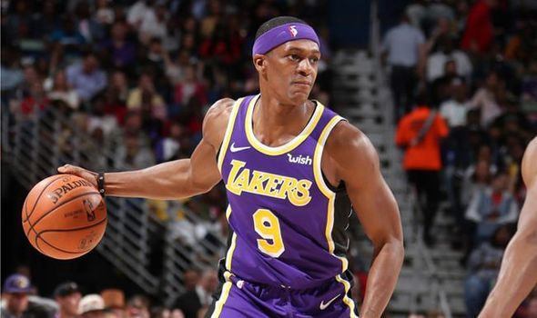 e750f5036494 Lakers news  Rajon Rondo sends playoff warning after LeBron James rant   Well get SWEPT