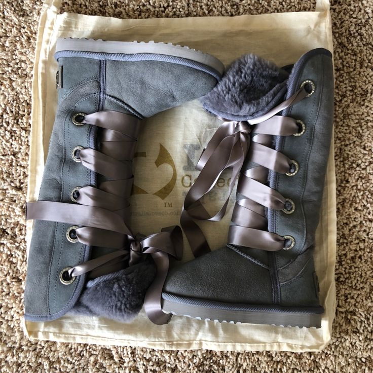 Australia Luxe Collective Shoes | Australia Luxe Collective Boots | Color: Gray | Size: 5