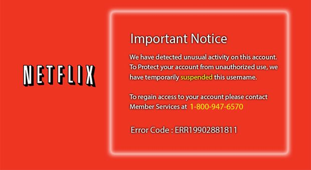 Netflix Phishing Scam - Fake Netflix Website Scam - Good Housekeeping