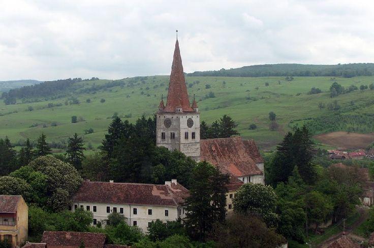Biserica evanghelica fortificata din Cincu