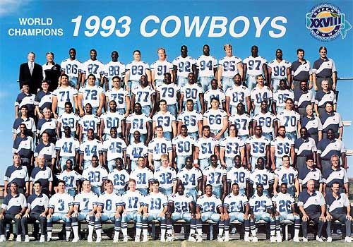 1993 Cowboys, World Champions #Dallas #Cowboys